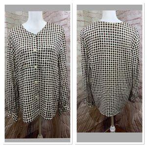 Vintage Liz Claiborne Button down size 14  shirt
